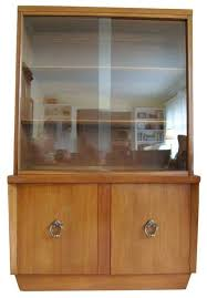 vintage china cabinet by american of martinsville transitional