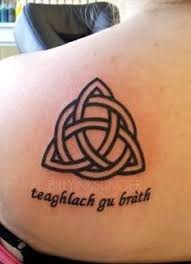 Celtic Knot Tattoo I Want Without The Saying