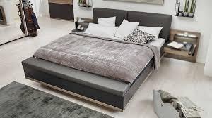 interliving schlafzimmer serie 1007 bettgestell mit bettbank dunkle sanremo eiche mattschwarz liegefläche ca 180 x