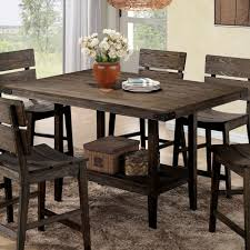 Rustic Counter Height Dining Table Sets Coaster Company