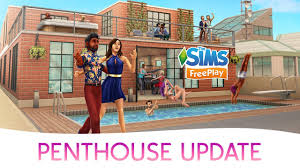 Sims Freeplay Halloween 2014 by The Sims Freeplay Penthouse Update Trailer Sims Community