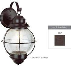 nuvo 60 5515 vintage 1 light 5 inch rustic bronze wall sconce wall