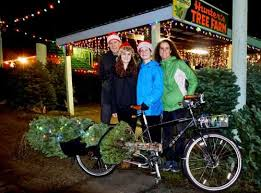 Seattle Christmas Tree Disposal 2015 by Christmas Tree By Bike Car Free Days