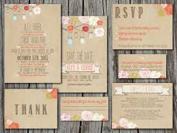 Diy Rustic Wedding Invitations For Inspiration How To Apply Enchanting Invitation Card 18