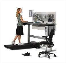 we ve seen treadmill desks now there are treadmill conference