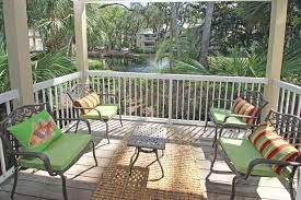 The Deck On Fountainview Happy Hour by Barrington Park 605 7326 U2022 Resort Rentals Of Hilton Head Island