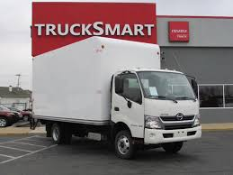 2017 HINO 155 16 FT UNICELL BOX VAN TRUCK FOR SALE #11239