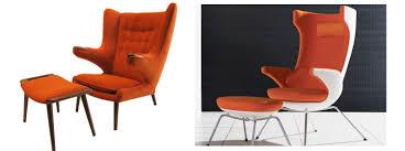 Hans Wegner Papa Bear Chair Leather by Separated At Birth I Sit Vs Papa Bear Modular 4