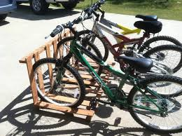 Pallet Bicycle Rack Project
