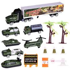 100 Military Semi Truck Amazoncom Army Car Toys 15 PCs Toys Playset Assorted Of