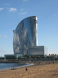 100 The W Hotel Barcelona Spain In Called The Vela Locally Is
