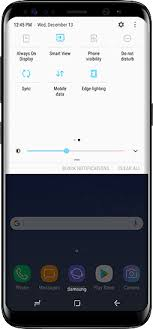 Use Smart View on Galaxy S8 to Screen Mirror