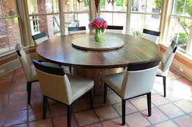 Image Of Round Rustic Dining Table Sets