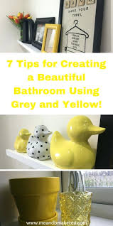 Yellow And Gray Bathroom Set by Rubber Ducky Bathroom Decor Unique Home Design