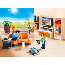 playmobil konstruktions spielset wohnzimmer 9267 city made in germany