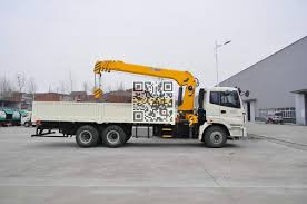 FOTON Hydraulic Crane Lorry-10T- Cargo Truck Crane Telescopic Boom ...