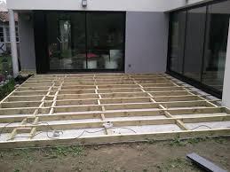 faire une dalle de terrasse 0 terrasse bois composite sur dalle