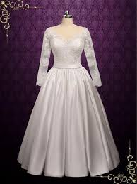 Lace Ball Gown Wedding Dress With Wide V Neck