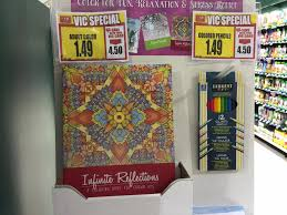 For Those Who Love Adult Coloring Be On The Lookout When Your In Harris Teeter I Spotted These Books And Color Pencils Just 149 Each