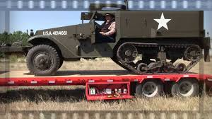 MrTruck Drives A WWII Army Half-Track - YouTube Uncategorized Verns Track Truck Filehalftrack Truck In Nunavutjpg Wikimedia Commons Automobile Magazine On Twitter American Front Skis And Powertrack Jeep 4x4 Tracks Manufacturer Train Crashes Into Semi Parked Jukin Media Announces That South Dakota Police Department 18 Rubber Tracks To Fit Yanmar C50r3 Track Dump Truck Size Commodores Garage 36 Project Out A High Note Iracing Rt102 Cchannel Systems Stay On A Best Image Kusaboshicom Resurrection Of Virginia Beach Beast Monster