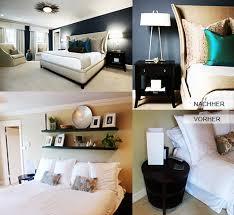 schlafzimmer renovieren und mit wandfarbe blau streichen