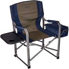 Kamp-Rite Director's Chair With Side Table & Cooler, Blue, Chairs ... Directors Chairs With Folding Side Table Youtube Mings Mark Stylish Camping Brown Full Back Chair Costway Compact Alinum Cup Deluxe Tall Director W And Holder Side Table Cooler Old Man Emu Adventure 4x4 With Black 156743 Rv Outdoor Meerkat Bushtec Heavy Duty Marquee Alinium Home Portable Pnic Set Double Chairumbrellatable Blue Shop Outsunny Steel Camp