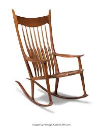 Sam Maloof (American, 1916-2009). Custom Rocking Chair, 2002 ...