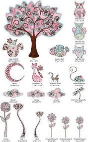 Owl Bedroom Wall Stickers by Flower Tree U0026 Owl Swing Wall Stickers Art Mural Decal Kids Nursery