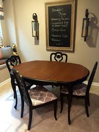 French Provincial Dining Table And Chairs Painted With ... Refishing The Ding Room Table Deuce Cities Henhouse Painted Ding Table 11104986 Animallica Stunning Refinish Carved Wooden Fniture With How To Refinish Room Chairs Kitchen Interiors Oak Chairs U Bed And Showrherikahappyartscom Refinished Lindauer Designs Diy Makeovers Before Afters The Budget How Bitterroot Modern Sweet