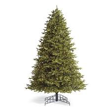 Noble Artificial Pre Lit Christmas Tree