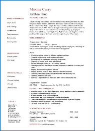 Kitchen Hand Resume Cooking Sample Template Example Job For Cook Position Hcsrcq Luxury