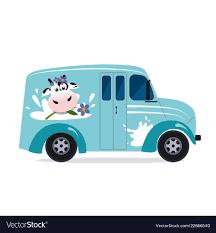 100 The Milk Truck Cargo Vector Images 56