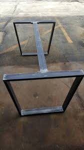 Coffee Table Easy Square Gold And Steel Legs