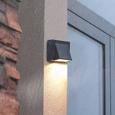 outdoor l 3w led wall sconce light fixture waterproof building
