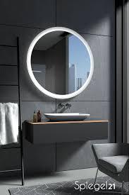 beleuchteter spiegel rund kaufen charon spiegel21