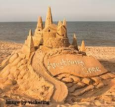 A Fairy Sand Castle