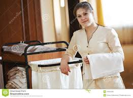 femmes de chambre femme de chambre à l hôtel photo stock image du entretien 44645288