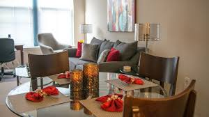 100 Crystal Point Apartments The Gramercy TwoBedroom Quarters Corporate Housing
