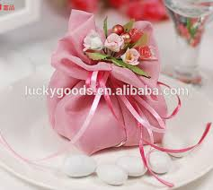 Royal Yarn Fuschia Flower Wedding Cake Bags As Gift Buy