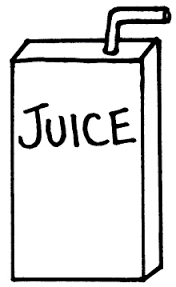 Punch Juice Box Clipart Black And White intended for Juice Box Clipart Black And White