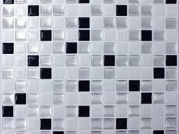 tile ideas 38 black and white adhesive vinyl tiles self adhesive