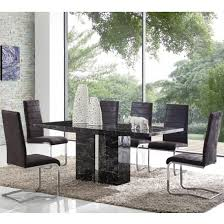 Cheap Dining Room Sets Uk by Marble Dining Table And 4 Chairs Furniture In Fashion
