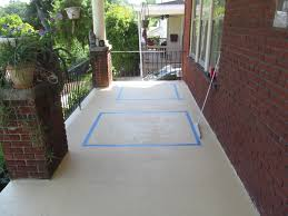 Concrete Porch Paint Redesign Painting Patio 12 How To Stamp A