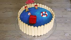swimmingpool torte