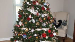 Simple Pull Up Christmas Trees With Lights Tittle