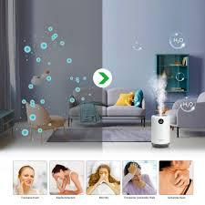 apokko luftbefeuchter ultraschall aroma raumbefeuchter 500ml usb duftle für zuhause und baby leise aroma diffusor für kinderzimmer schlafzimmer
