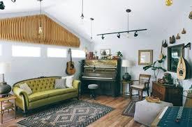 Interior Design Eclectic Garage Home Music Studios