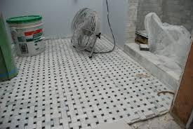 basket weave bathroom floor tile bathroom floors