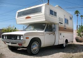 Faded Glory:1978 Datsun 620 Mini Motorhome
