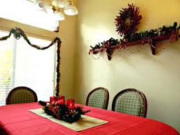 Decorating Dining Room For Christmas Decorations Ideas Holiday